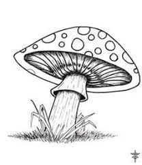 how to draw a mushroom mushrooms by nerissa the vampire on