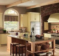 Medallion Cabinets At Menards by Decorating Mosaic Tile Backsplash With Copper Range Hoods And