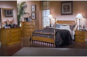 Carolina Furniture Oak  Bedroom Collection - Carolina bedroom set