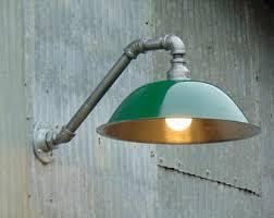 Barn Wall Sconce Custom Colored Light Fixture Sconce Barn Light Industrial
