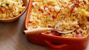 mac and cheese with bacon food network