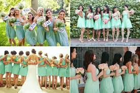 mint green bridesmaid dresses prom dress 六月 2014
