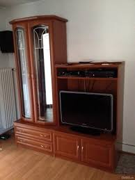 Wohnzimmerschrank Aus Paletten Kirschbaum Wohnwand