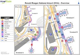 Washington Dc Airports Map by Washington Ronald Reagan Washington National Dca Airport