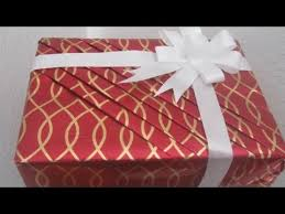 Gift Wrapping How To - part 2 flower bow tie how to wrap your gift in an elegent way