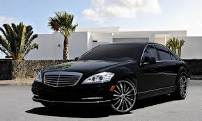 black mercedes black mercedes s550 luxury car service la limos