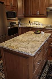 how to install a kitchen island granite countertop corner oven cabinet microwave fruit cake