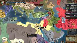 Middle East Map Game by Colourful Middle East Paradoxplaza