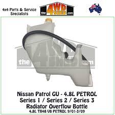 nissan patrol western australia nissan patrol gu 4 8l petrol radiator overflow bottle