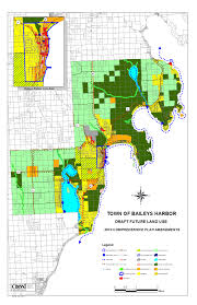 Map Of Door County Wi Town Of Baileys Harbor Smart Growth Town Of Baileys Harbor