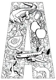 coloring pages with letter h letter a coloring pages a animal alphabet letters to alphabet