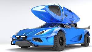 blue koenigsegg one 1 brandon murphy koenigsegg one 1 offroad kit