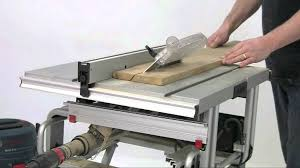 bosch safety table saw bosch gts 10j table saw youtube