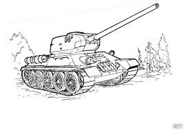 t 34 tank coloring page free printable coloring pages