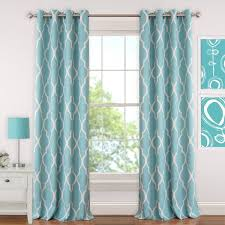 Turquoise Blackout Curtains Appealing Turquoise Blackout Curtains And Bold Ideas Turquoise