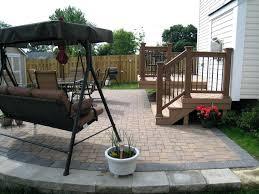 Paver Design Software by Patio Ideas Extraordinary Backyard Decks For Small Yards