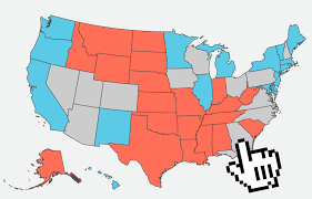 Election Map Results by Watch Live Gary Johnson Election Results By State Link