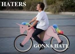 Haters Gonna Hate Meme - the meaning and usage of haters gonna hate