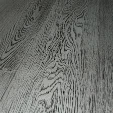 engineered parquet flooring glued oak varnished ash grey