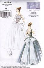 vogue wedding dress sewing patterns ebay
