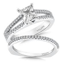wedding cut rings images Shira diamonds princess cut split shank diamond engagement ring jpg