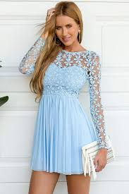 what to wear in sky blue casual dress ideas u2013 designers