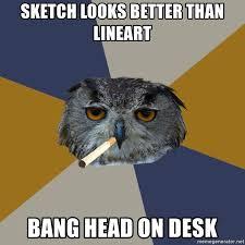Head Desk Meme - bang head on desk meme binge thinking