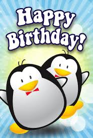 Penguin Birthday Meme - free printables this birthday card features penguins on the