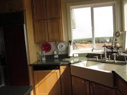 Low Hot Water Pressure Kitchen Sink by Granite Countertop Cabinetcoat Radio Wave Microwave Lapis