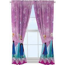 disney u0027s frozen u0027nordic wonder u0027 girls bedroom curtains walmart com