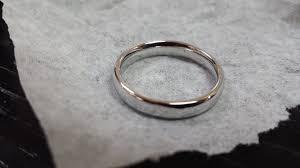 wedding ring repair santa barbara inlay ring repair in ring vs garbage disposal story