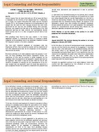 Sle Letter Certification No Pending Case Legal Counseling And Social Responsibility Legal Ethics