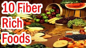 top 10 fiber rich foods youtube