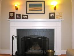 fireplace awesome decorating mantels with picture frame and wall