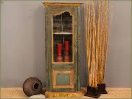 Oak Curio Cabinets Curio Cabinet Distressed Wood Curio Cabinets Danny Trevathan