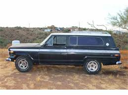 jeep cherokee chief 1975 jeep cherokee chief for sale classiccars com cc 1003832