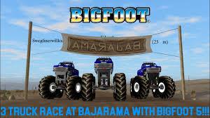 monster truck race videos rigs of rods monster jam monster truck 3 truck race at bajarama