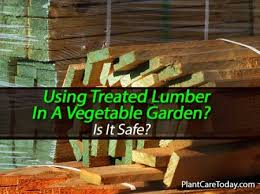 Wood For Raised Vegetable Garden by Should Pressure Treated Lumber Be Used In A Vegetable Garden