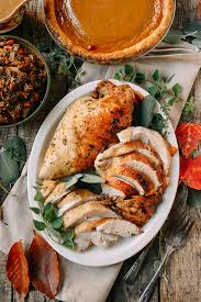 herb roasted turkey breast with stovetop the woks of