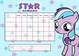 printable homework incentive charts my little pony a4 magnet reward chart kristen doherty design