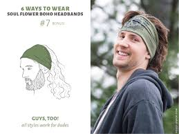 headbands for guys 6 ways to wear headbands featuring soul flower boho headbands
