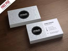 white business card template 100 free business cards psd the best