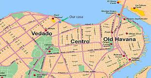 Cuban Map Walkingvieja