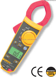 fluke clampmeter 317 trms 1 yr warranty low current