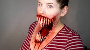 best halloween makeup to use monster mouth makeup tutorial youtube