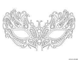 coloriage masque vénitien lafayette grande image mixed media