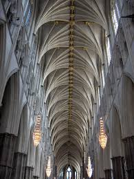 beautiful roof architecture inside westminster abbey westminster