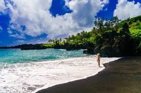 black sand beach hawaii maui black sand beach picture of maui hawaii tripadvisor