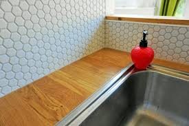 hexagon tiles splashback revealed old fashioned susie a