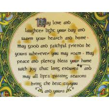 blessing for the home home blessing plate clara crafts 4 inch plate royal tara